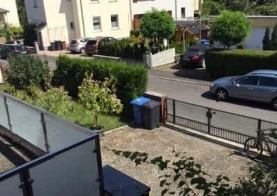 Die Terrasse!